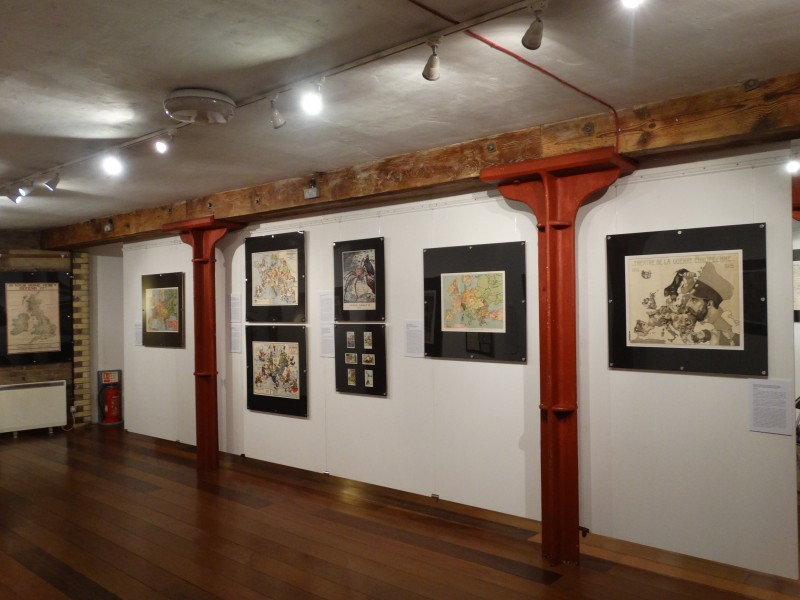 Satirical & Propaganda Maps of the First World War - Menier Gallery - Nov 2014