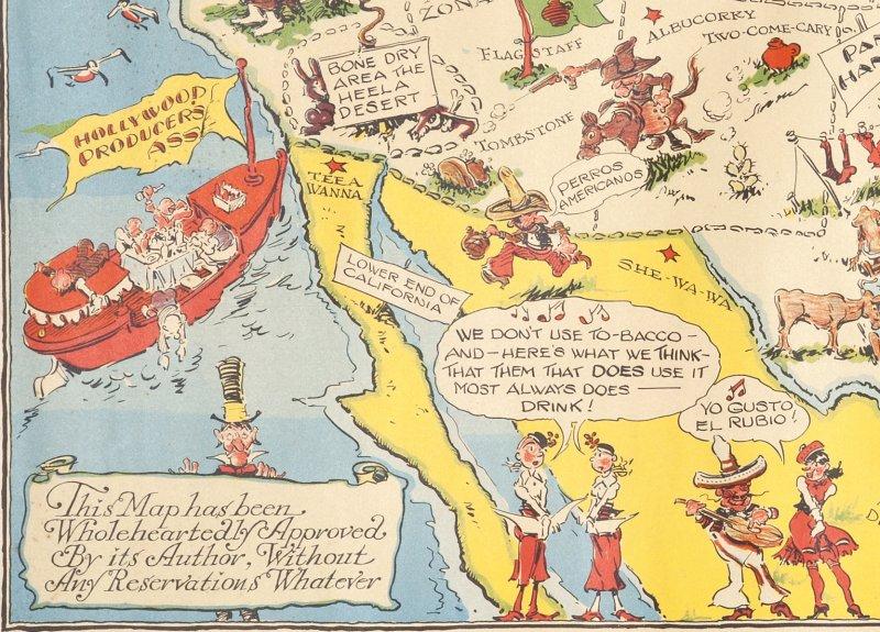 Bootlegger's Map