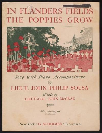 In Flanders Field by Lt John Philip Sousa [1918]