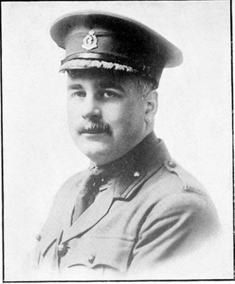Lt Col Frank McKelvey Bell, Canadian Medical Corps