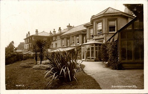 Huntly Bishopsteignton Devon - Retirement Home for Ex-Army Officers - Ernest Clegg moved here in about 1950-51