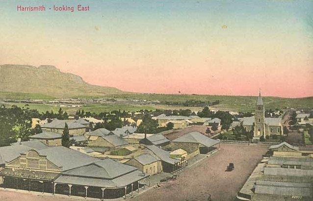 Postcard of Harrismith c1900-1905