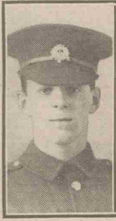 Pte Arthur Strange 7th Beds - died 20-09-1915
