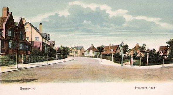 Sycamore Road Bournville c1906